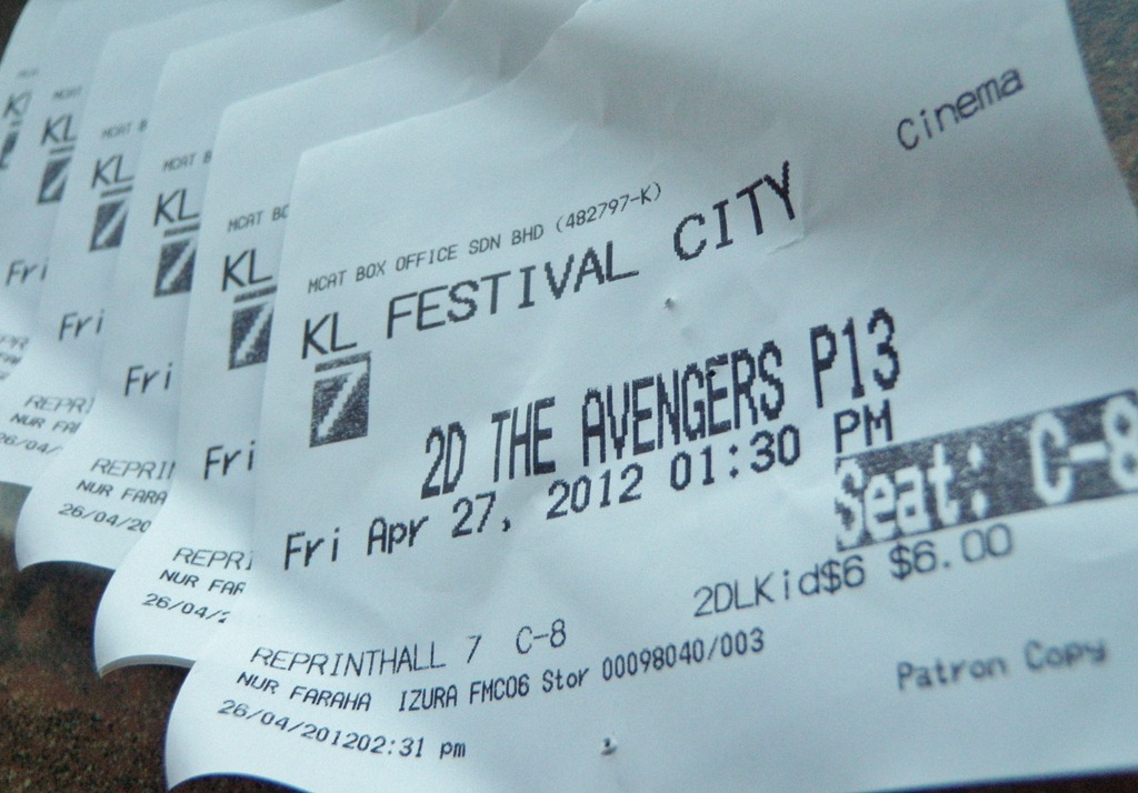 ACE Students Movie-Out day: The Avengers