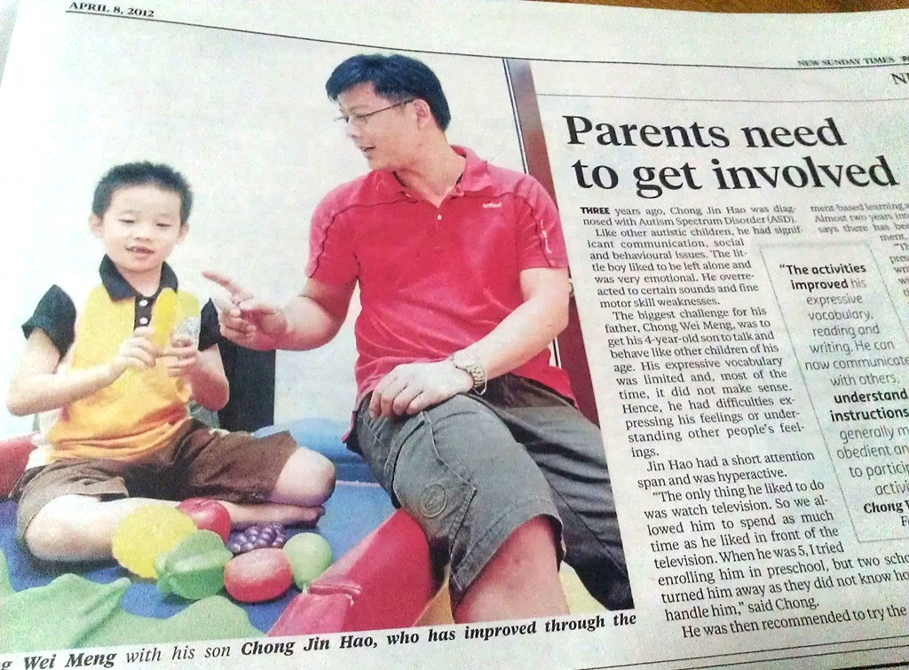 Our Child – Jin Hao is on NST today!